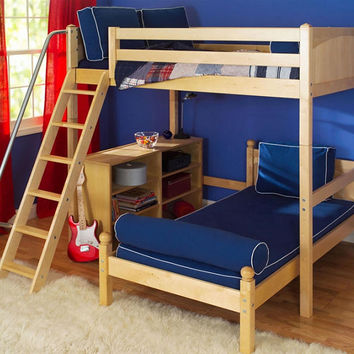 Lingo Full Size Ultra High over Twin Loft Bed