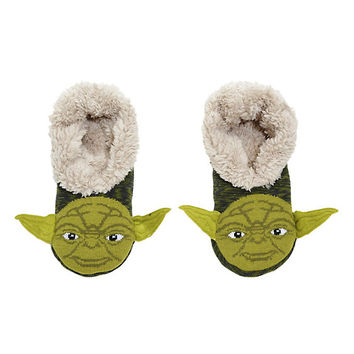 Star Wars Yoda Cozy Slippers