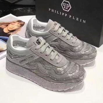Philipp Plein Women Fashion Casual Sneakers Sport Shoes-1