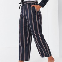 Light Before Dark Drawstring Straight-Leg Pant | Urban Outfitters