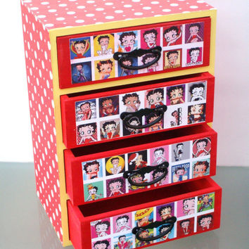 Betty Boop Jewelry Box by StrictlyCute on Etsy