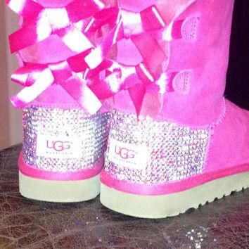 Youth Swarovski crystal Ugg Boots