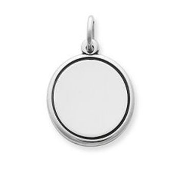 Engravable Disc Charm | James Avery