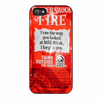 Taco Bell Sauce Fire Cover iPhone 5s Case