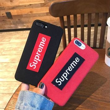 superme iphoneX/8 Case iPhone7/7plus 6/6plus