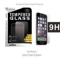 iPhone 6S Screen Protector, iMacket - iPhone 6S 6 Ballistics Tempered Glass Screen Protector [2.5D Round edge, 9H Hardness, Oleophobic, Fit Most Protective Case]