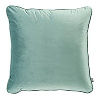 Square Velvet Turquoise Pillow | Eichholtz Roche | Modern Luxury Home Decor | Decorative Pillow For Couch Or Bed