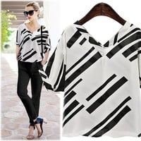 women shirts tops chiffon plus size clothes [9893440012]