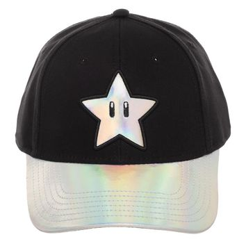 Super Mario Star Dad Hat