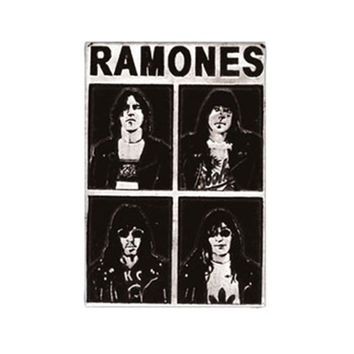 Ramones Men's Belt Buckle Black
