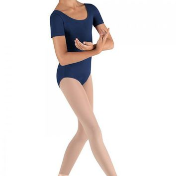 Short Sleeve Leotard CL5402 by Bloch