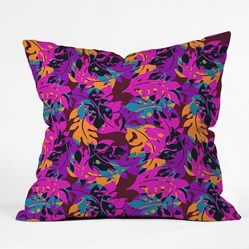 Aimee St Hill Falling Leaves Throw Pillow