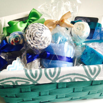 Deluxe Baby Gift Basket | Baby Shower Gift Basket | Inspired Baby Basket