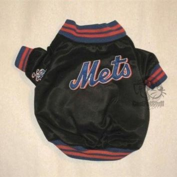 ONETOW New York Mets Dugout Dog Jacket