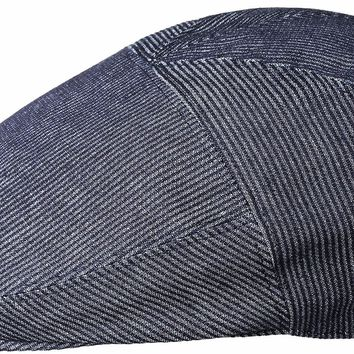 "Bailey ""Koser"" Denim Stripe 5 Panel Ivy Cap"