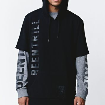 Been Trill Cut Off Black Hoodie - Mens Hoodie - Black