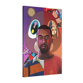 Kanye West Canvas Gallery Wrap