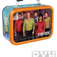 Star Trek Original Series Crew Lunch Box Tin Tote
