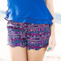 On The Trail Tribal Shorts