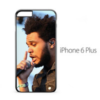 The Weeknd Singing iPhone 6 Plus Case
