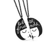 BFF Best Friend necklace set