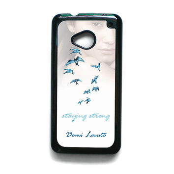 Demi Lovato Staying Strong for HTC One M7/M8/M9 phonecase