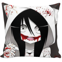 Jeff the Killer Couch Pillow