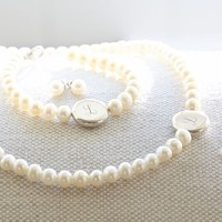 Monogram Pearl Collection