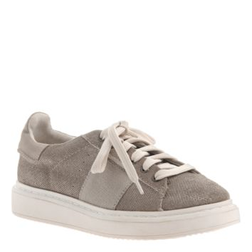 New OTBT Women's Sneakers Normcore in Grey Silver