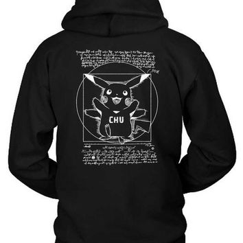 Pokemon Pentagraph Hoodie Two Sided