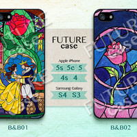Disney, Beauty and the Beast, iPhone 5 case, iPhone 5C Case,iPhone 5S case ,Hard or Soft Case