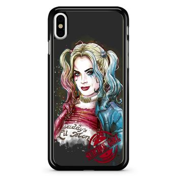 Suicide Girl Harley Quinn iPhone X Case