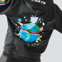 Silence + Noise Wild World Hoodie Sweatshirt - Urban Outfitters