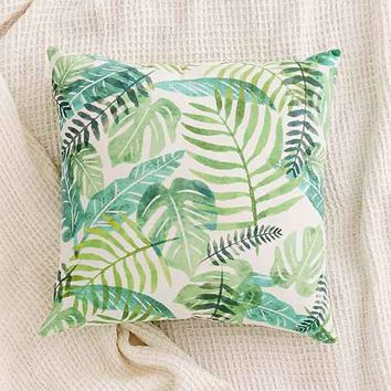 Assembly Home Printed Palms Pillow