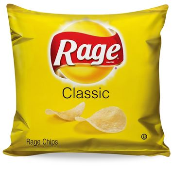 ROCP Rage Chips Couch Pillow