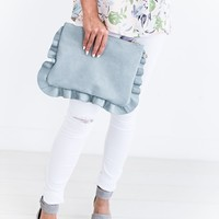 Adelina Clutch Powder Blue - JessaKae