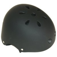 Cycle Force Group Youth BMX Helmet, Black, 20.5- Inch - 22.4- Inch