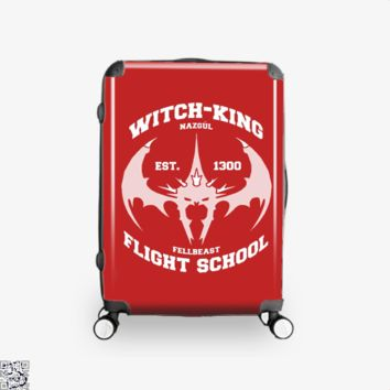 Witch King Nazgûl Flight School, Lord Of The Rings Suitcase
