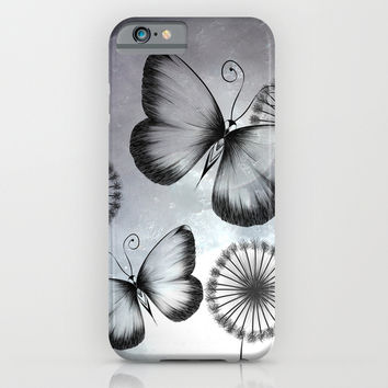 Butterflies iPhone & iPod Case by LouJah