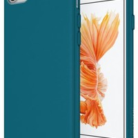iPhone 7 Case, Diztronic Full Matte Soft Touch Slim-Fit Flexible TPU Case for Ap