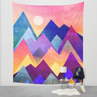 A new day Wall Tapestry by Elisabeth Fredriksson