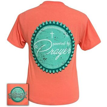Girlie Girl Originals Powered By Prayer Faith T-Shirt