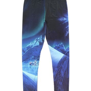 Mighty Fine Disney Frozen Snow Queen Juniors Leggings