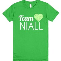 Team Niall Shirt-Female Grass T-Shirt