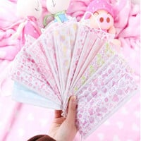 10pcs/pack Non Woven Disposable Face Mask Candy Salon Dust Proff Ear Loop Medical Mouth Full Random Colors