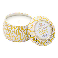 Voluspa Maison Blanc Petite Decorative Tin Candle