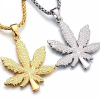 FREE Weed Leaf Necklace Giveaway