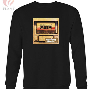 Guardians Of The Galaxy Awesome Mix Film Soundtrack Long Sweater