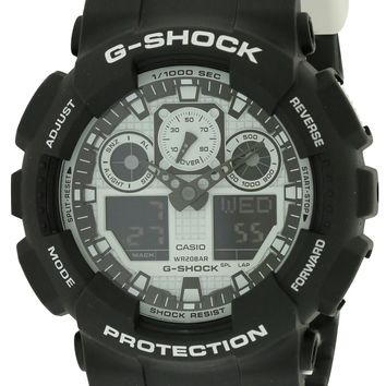Casio G-Shock Watch GA100BW-1A