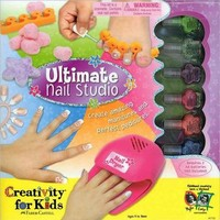 Kids, Toddlers Pretend Play Ultimate Nail Studio Kit Toy